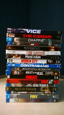 18 Blu-Ray PreOwned-Rated R-Collectible Entertainment-Like New-NonProfit Org