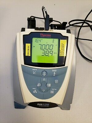 Thermo Scientific Orion 4 Star pH Conductivity Meter w/ 013016MD Conductivity Pr