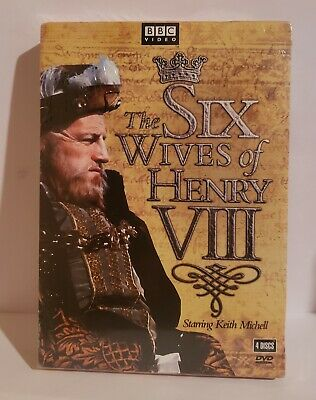 **NEW** The Six Wives of Henry VIII (DVD, 4 DISC, BBC, REGION ONE)