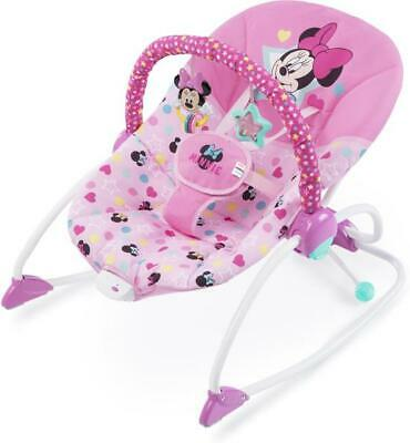 Disney's Minnie Mouse Stars & Smiles Infant to Toddler Rocker