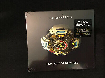 Jeff Lynne's - E.l.o -Elo From Out Of Nowhere Embossed Deluxe Cd New And Sealed