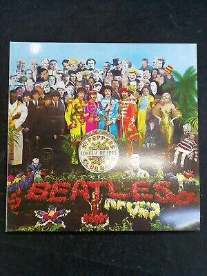 The beatles, Sgt peppers lonely hearts club band vinyl