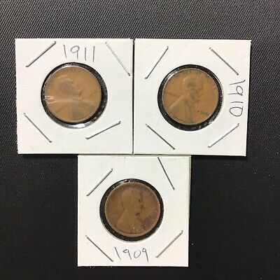 ✯ UNSEARCHED WHEAT CENTS LINCOLN PENNIES ROLL✯ESTATE SALE COINS LOT✯1909-58☆ 50