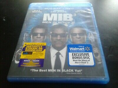 MIB 3 Men In Black 3 Blu-Ray + DVD brand new canadian bilingual sealed