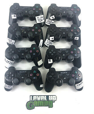 Job Lot x10 Faulty Spare Repairs Broken Sony Playstation 3 Controllers