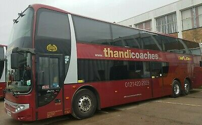 74 Seater Scania Executive Double Decker, Lez, Auto