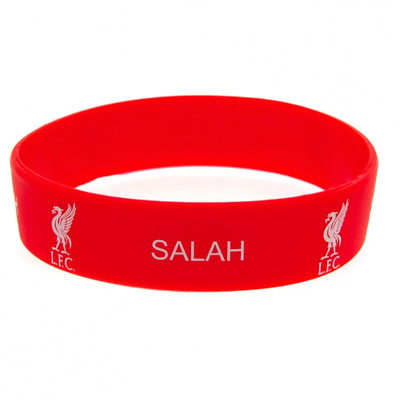 Liverpool FC Silicone Wristband Salah | OFFICIAL