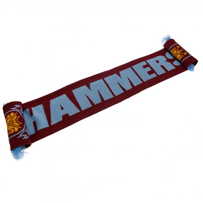 West Ham United FC Scarf HM | OFFICIAL