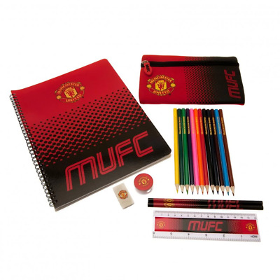Manchester United FC Ultimate Stationery Set   OFFICIAL