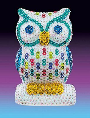 NEW 1409 Owl Craft Makes Stunning Decoration Using Easy To Follow Free  Shippin
