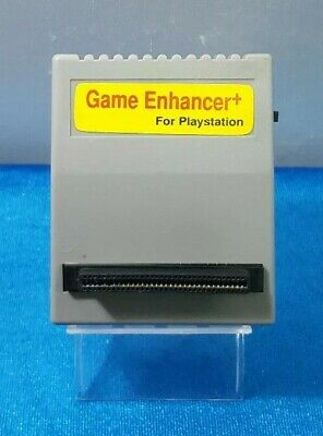 Game Enhancer+ Action Replay Psone Playstation1 Cartucho