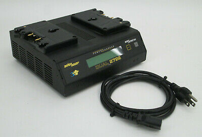 Anton Bauer Dual 2722 Power Charger Battery Charging Station