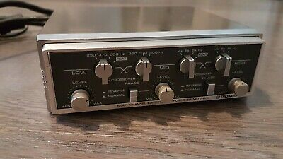 Pioneer cd-646 Multi Channel ELECTRONIC CROSSOVER NETWORK with holder VINTAGE