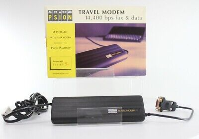 Psion Travel Modem 14,400 bps Fax and Data (1601-0071-10)