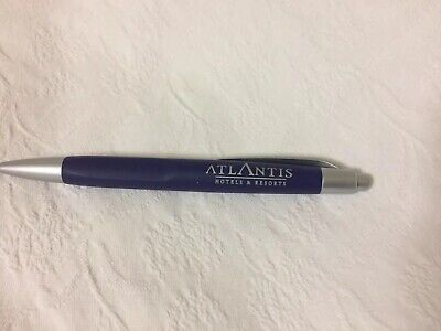 atlantis hotels & resorts stylo advertising collectable pen