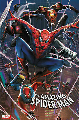 Amazing Spider-Man #39 Jie Yuan Connecting Chinese New Year Variant 2/12/20 Nm