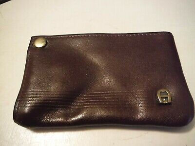 Vintage ETIENNE AIGNER Woman's Leather Six-Key Keyholder and Change Purse