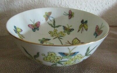 CHINESE, VINTAGE, HANDPAINTED BOWL, very pretty decoration.