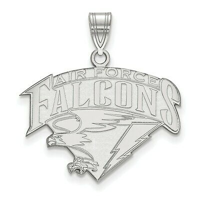 14K Rose Gold-plated 925 Silver United States Air Force Pendant with 16 Necklace Jewels Obsession United States Air Force Necklace