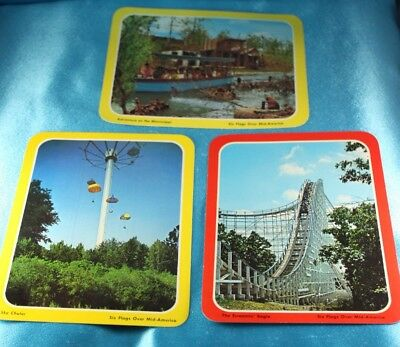 Six Flags Over Mid-America Embroidered Patch Amusement Park Roller Coasters
