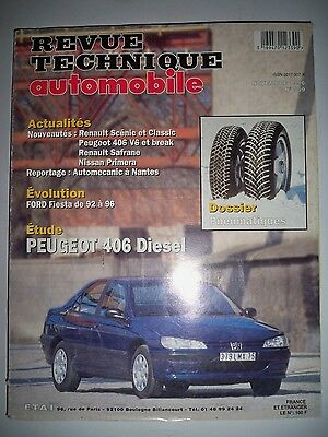 PEUGEOT 406 - Revue Technique Automobile