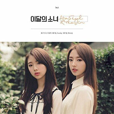 [Reissue] MONTHLY GIRL LOONA - HASEUL & YEOJIN CD+Photocard+Gift+Tracking no.