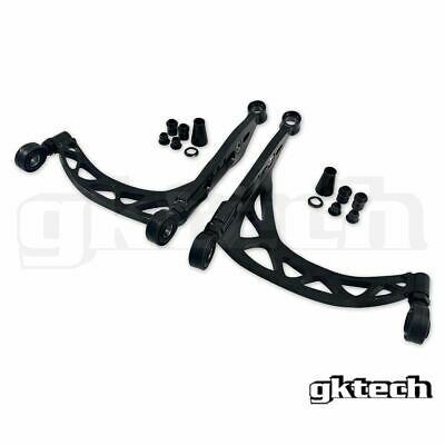 GKTech 4130 Chromoly Super Lock Lower Control Arms for Nissan Z33 350Z/ V35 Skyl