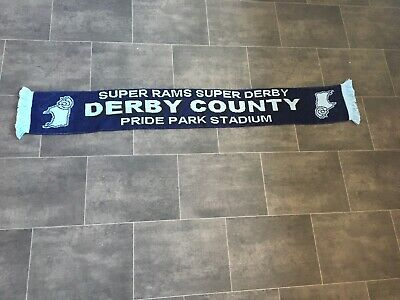 Derby County Football Scarf - New