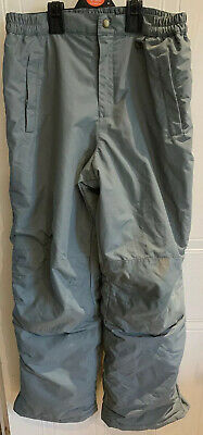 Boys Or Girls Lands End Grey Ski Trousers/salopettes Age 14