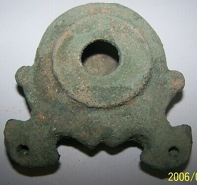 herodian oil lamp bronze multi nozzle