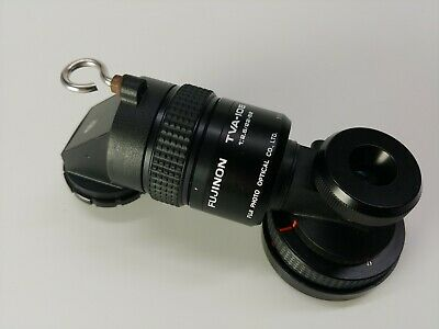 Fujinon TVA-10B Adapter - Used - One Lens cap Broken - See Pictures - AS IS