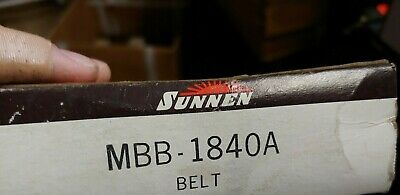 Model MBB 1840 A Fits all models of MBB Hone and others New Sunnen V Belt