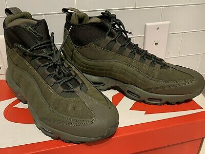 NIKE MEN'S AIR Max 95 Sneakerboot Shoes Olive Size 11 806809