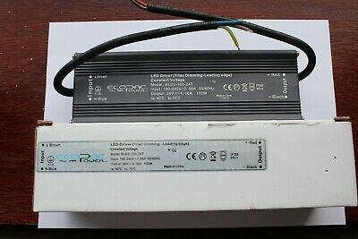 Ecopac ELED-100-24T IP66 100w LED Driver 24V DC Triac Dimming Leading Edge