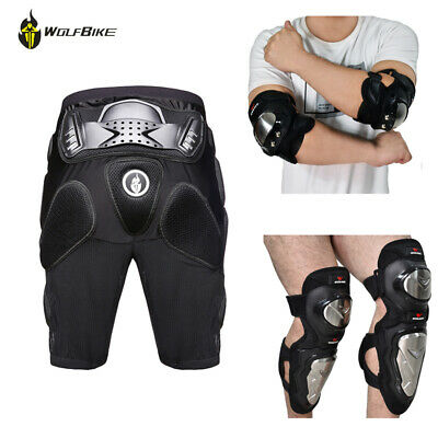 Motorcycle Hip Protector Hip Shorts Knee Elbow Pads Protection Guards Moto Armor