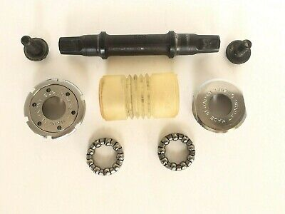 14mm bottom bracket spindle Bolts New old stock BB crank parts square taper axle