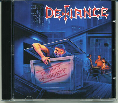 """Defiance """"Product Of Society"""" 1989, CD"""
