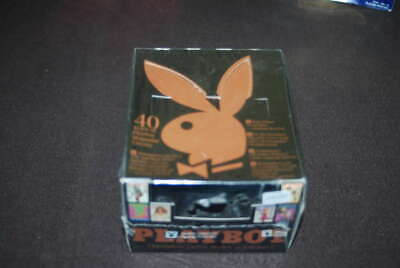 1995 Sports Time Playboy Chromium Cover Card Edition 2 Sealed Box 24 Pack Wb1153