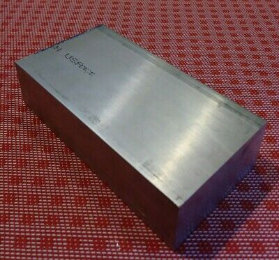 "1"" X 3"" X 4"" aluminum 6061 T6511 new solid plate flat bar stock mill block MT"