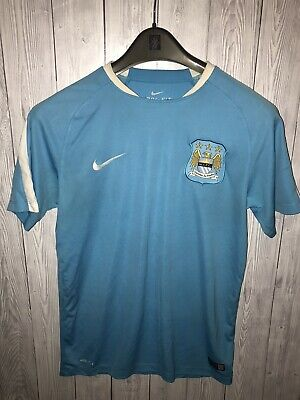 Manchester City Nike DriFit Training Shirt Size - Medium