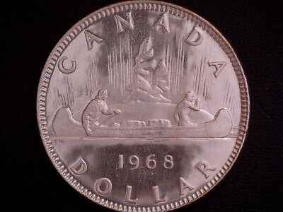 1968 Canada 'Proof Like' Voyageur Dollar Coin