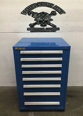 Used 8-Drawer Stanley Vidmar Industrial Tool Storage Cabinet