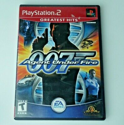 James Bond 007 In Agent Under Fire Playstation 2 Great Condition (No Manual)