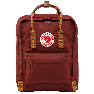 Fjallraven Kanken Classic Unisexe Sac à Dos - Ox Red-goose Eye Une Taille