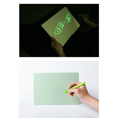 Draw Light Fluorescent Painting Board Children's Magic Writing Luminous 3D Toys
