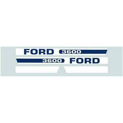 Hood Decal Set For Ford Tractor Model 3600
