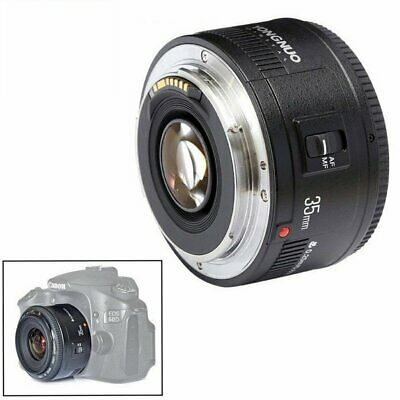 Yongnuo YN35mm EF 35mm Fixed Lens F/2.0 AF MF Focus Wide Angle for Canon EOS