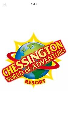 2 Chessington Tickets - CHOOSE YOUR DATE