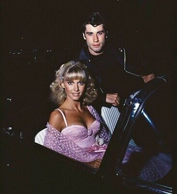 Olivia Newton John - With John Dressed In A Pink Top !!