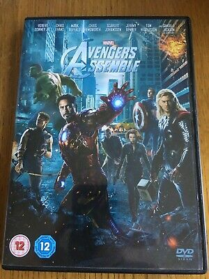 Avengers Assemble DVD (2012) Robert Downey Jr, Whedon (DIR) cert 12